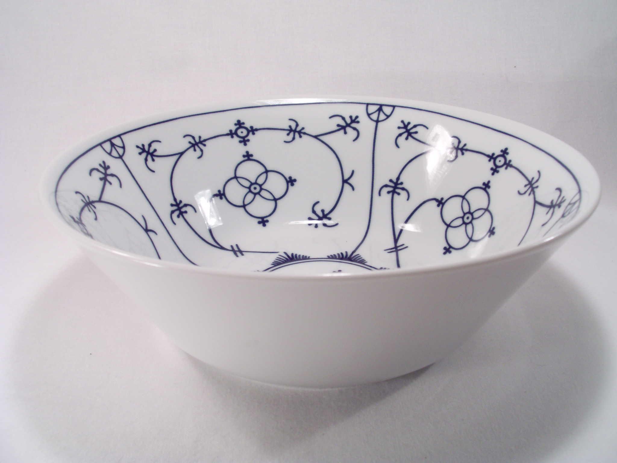 Bowl Schüssel Winterling indischblau indisch blau